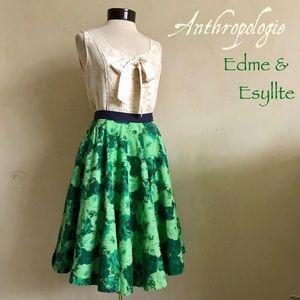 """Anthropologie """"Green Thumb"""" Skirt"""